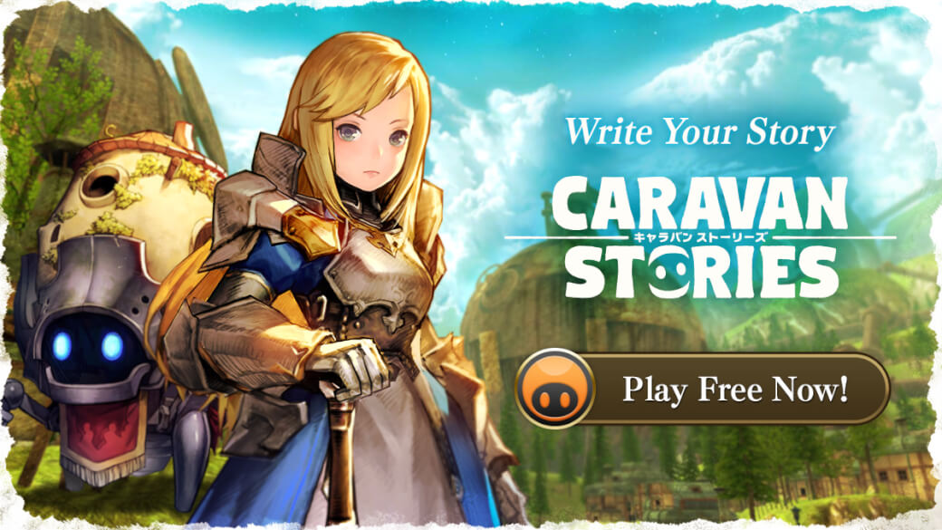 Caravan Stories Arrives Today!